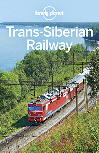 Trans Map - Lonely Planet Trans-Siberian Railway (Travel Guide)