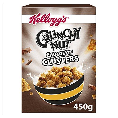Kellogg's Crunchy Nut Milk Chocolate Curls with Honey & Nut Clusters (Crunchy Nut Clusters)