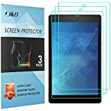 [3-Pack] All-New Fire 7 2017 Screen Protector, J&D Premium HD Clear Film Shield Screen Protector for All-New Fire 7 2017/Amazon Fire 7 2016/All-New Fire 7 Kids Edition