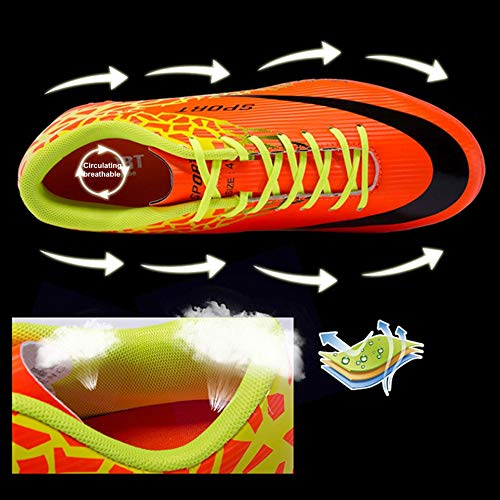 À Soccer Respirant Extérieur Ongles D'entraînement De Cassé Football Chaussures Antidérapante w4Xqzgaw