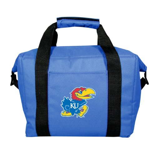 NCAA Kansas Jayhawks Soft Sided 12-Pack Cooler Bag