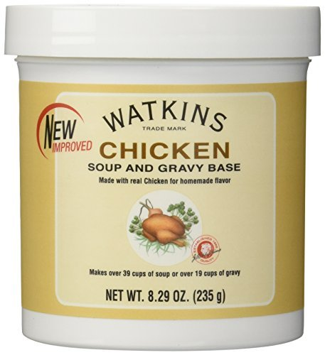Watkins Chicken Soup and Gravy Base Net Wt 8.29oz (235g) by Watkins (Watkins Chicken Soup Base compare prices)