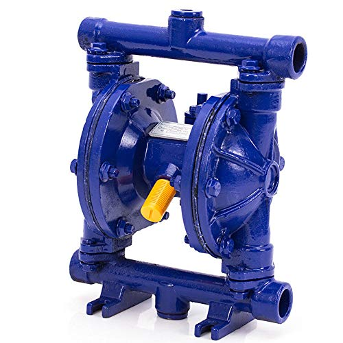 TABODD 12GPM Air-Operated Double Diaphragm Pump Outlet Low Viscosity Petroleum Fluids 1/2'' Inlet/Outlet QBK-15