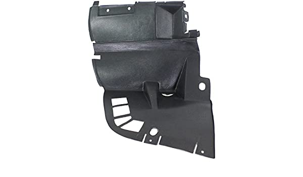 For SL500 96-02 Passenger Side Fender Splash Shield Front Plastic