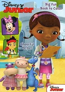 Amazon.com: Disney Sofia the first and Doc McStuffins Big fun book ...