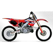 KUNGFU GRAPHICS 2000 2001 Honda CR125 CR250 Motocross Complete Graphic Decal Kit