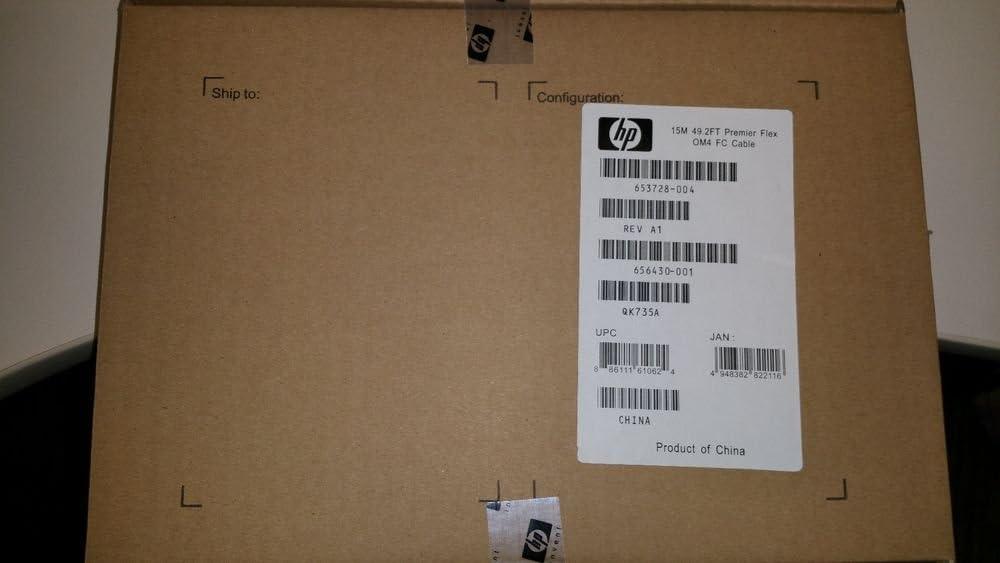 HP 653728-004 15M LC//LC Premier Flex OM4 Cable