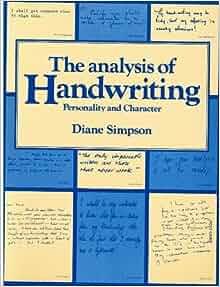 handwriting and character analysis