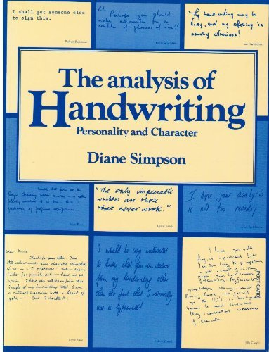 E.b.o.o.k The Analysis of Handwriting: Personality and Character (Miscellaneous Series)<br />PPT
