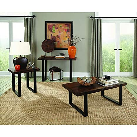 Superb Amazon Com Coaster Home Furnishings Rectangular Coffee Theyellowbook Wood Chair Design Ideas Theyellowbookinfo