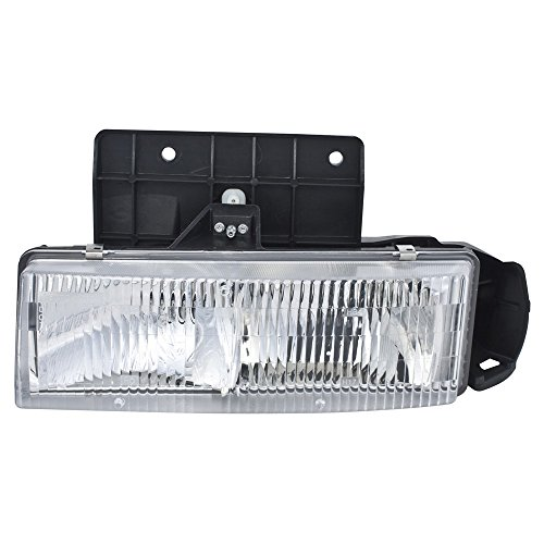 ReplaceMyParts RM-0812052MG Headlight Head Lamp Assembly W/MOUNTING PANEL (COMP) LH Left Driver Side For 85-05 ASTRO/85-05 SAFARI
