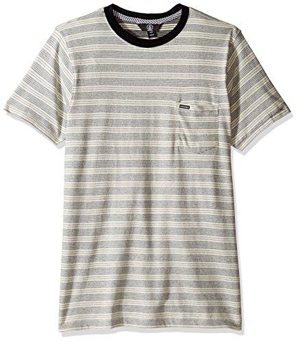 Volcom Mens Alden Crew Short Sleeve Shirt
