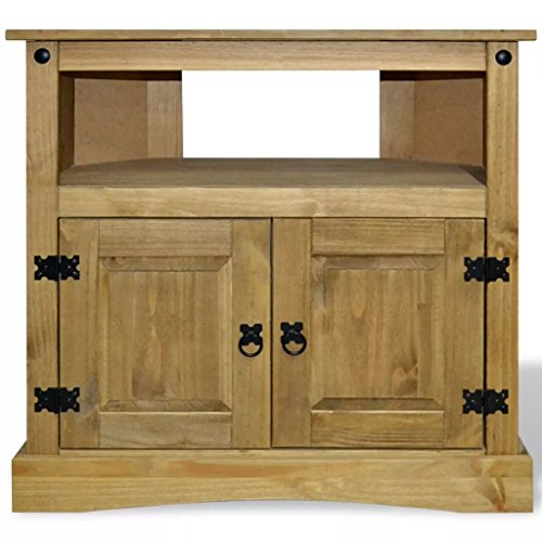 Festnight Wood Buffet Sideboard with Open Storage Compartment and Cabinet Wooden Side Console Table for Living Room Entryway Kitchen Home Furniture 31.5