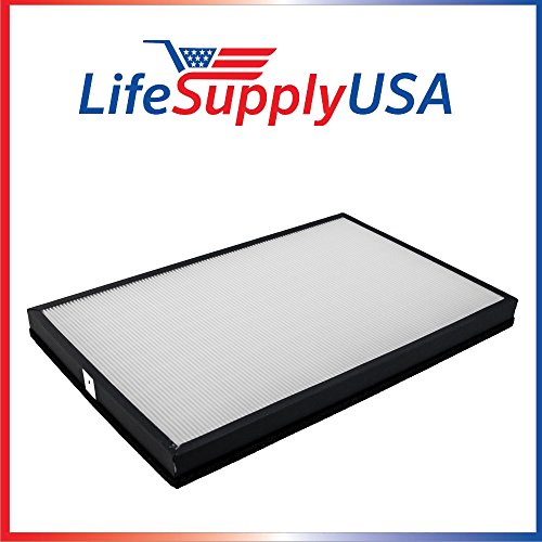 LifeSupplyUSA Replacement HEPA Filter for Envion AllergyPro Allergy Pro AP450 AP 450 Dimensions: 17.75 x 11.5 x 1.5