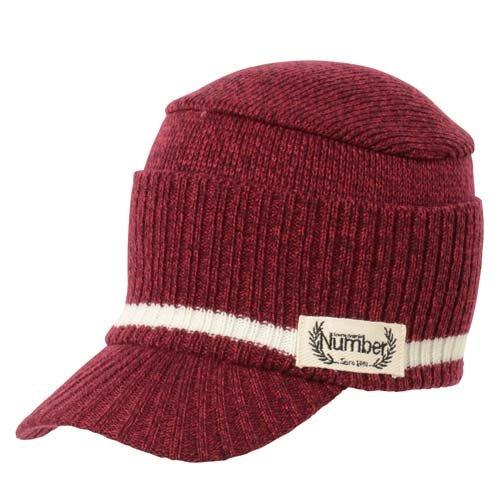 Number(ナンバー) ゴルフ アクセサリー 帽子 ニットキャップ レディース RED NB-F14-202-044 RED