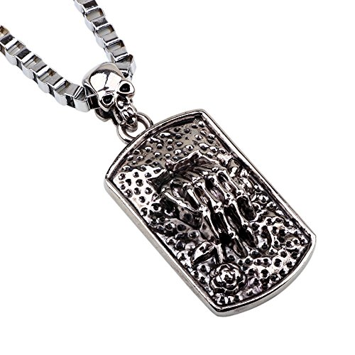 Lg Navigator Cell Phone (Winter's Secret Devil's Hand Pendant Chunky Rectangle Style 22.44