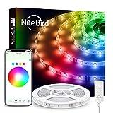 NITEBIRD Smart LED Strip Lights, App Remote Control