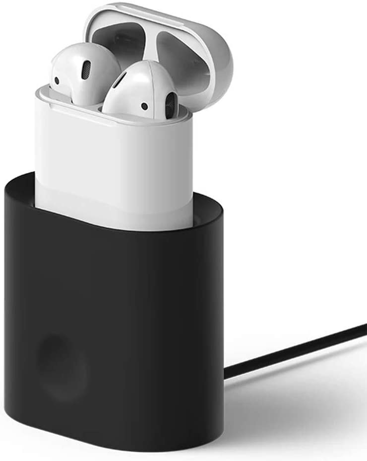 Zenpard Silicon Charging Stand for Airpods White