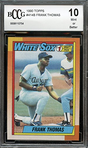 1990-topps-414b-frank-thomas-chicago-white-sox-rookie-card-bgs-bccg-10-graded-card