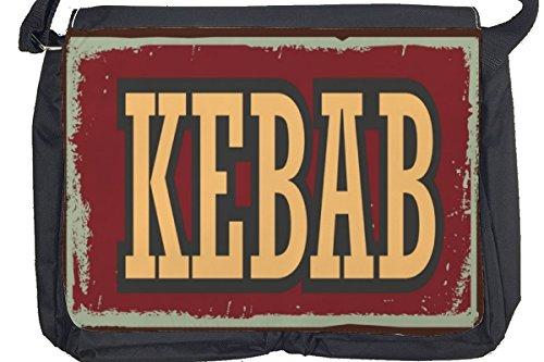 Borsa Tracolla Retro Kebab Stampato