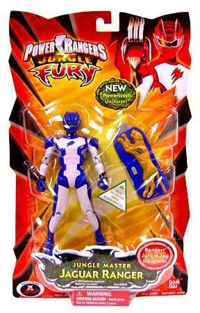 Power Rangers Jungle Fury Master Jaguar Ranger - Blue/White]()
