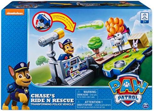 Paw Patrol Chase Ride N Rescue Transforming Police Vehicle Set