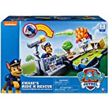 Paw Patrol, Chase's Ride 'N' Rescue, Transforming 2-in-1 Playset & Police Cruiser, for Kids Aged 3 & Up