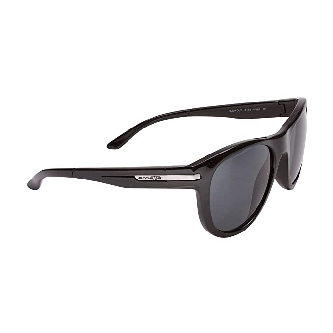 28a6a56c683 Amazon.com  Arnette Blowout AN4142-06 Polarized Aviator Sunglasses ...