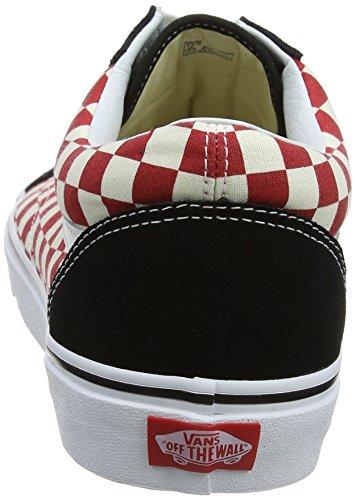 Skool Sneaker Mehrfarbig Old Erwachsene Checkerboard Unisex Vans Pq0gOO