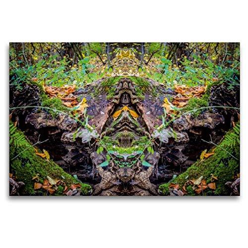 CALVENDO Art Toile en Textile de qualité supérieure 120 cm x 80 cm