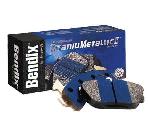 Bendix MKD215FM TitaniuMetallic2 Disc Brake Pad Set