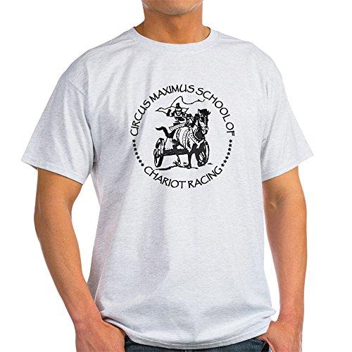CafePress Chariot Racing Light T Shirt 100% Cotton T-Shirt Ash Grey