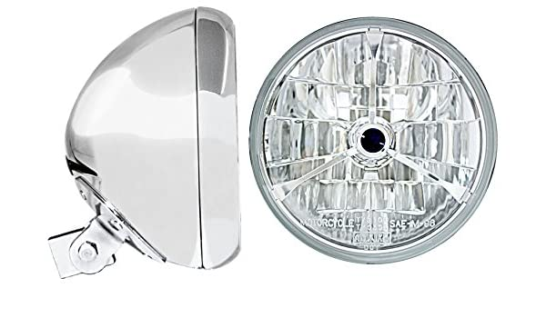 Adjure Chrome 7 Universal Headlight Bucket HB77010-7SR