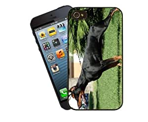 Eclipse Gift Ideas Dog Phone Case, Design 7 - Doberman Pinscher - For Apple iPhone 5 / 5s - Cover