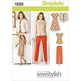 Best Simplicity Creative Group Inc - Patterns Peplum Dresses - Simplicity SewStylish Pattern 1699 Misses Dress or Top Review