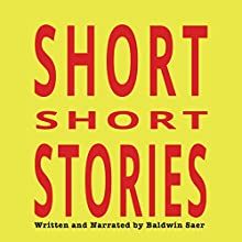 Short Short Stories Audiobook by Baldwin Saer Narrated by Baldwin Saer