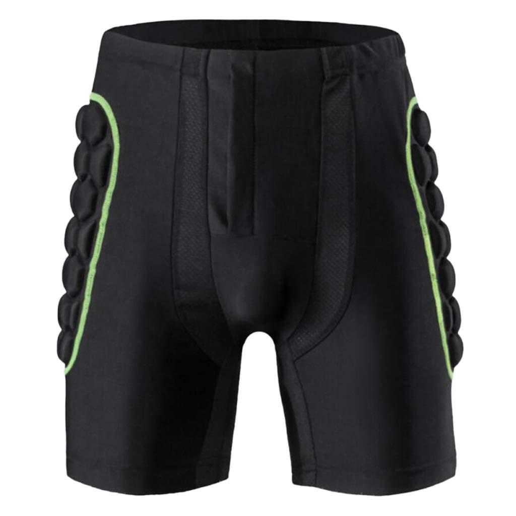 B Baosity Couche de Hanche /Épaisse de Patinage Pantalon Cuissards Anti-Chute Protecteur de Couche pour Patin