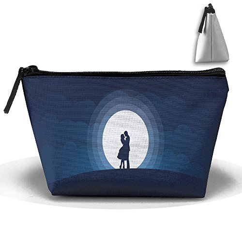 The Couple In Love Cute Trip Toiletry Bag Trapezoidal Zipper Receive Bag Travel Fashion by BabylLave