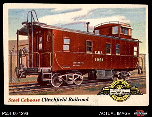 1955 Topps Rails & Sails # 9 Steel Caboose (Card) Dean's Cards 4 - VG/EX -