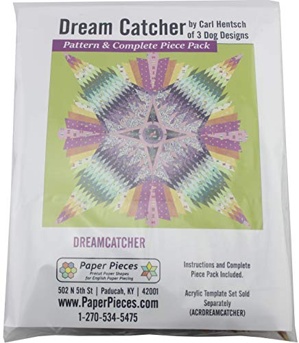 Paper Pieces Dreamcatcher Pack for Dream Catcher Complete Set and Pattern, None