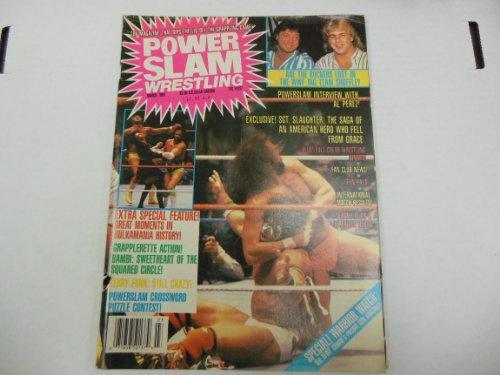 Power Slam Wrestling Magazine March 1981 Ultimate Warrior, Hulkamania
