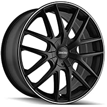 Touren TR60 16 Black Wheel / Rim 5x110 & 5x115 with a 42mm Offset and a 72.62 Hub Bore. Partnumber 3260-6711MB