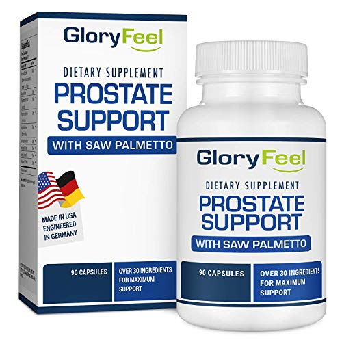 Prostate Support Supplement with Saw Palmetto for Men - 90 Capsules to Reduce Frequent Urination, Remedy Hair Loss, with 30+ Ingredients - Prostate Healt Supplements (Natural Remedies For Frequent Urination In Men)