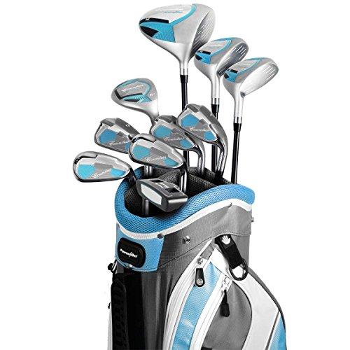 Powerbilt Countess Petite Golf Set, Right Hand, Cyan