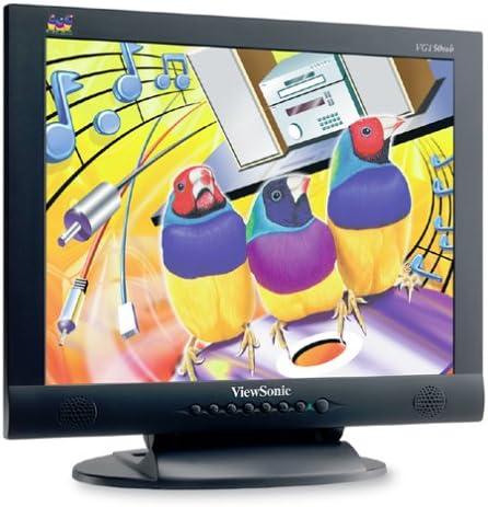 VIEWSONIC vg150mb 38,1 cm (15 Pulgadas) LCD Monitor Negro (integr. Altavoz): Amazon.es: Informática