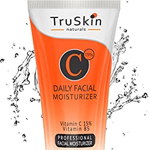 BEST Vitamin C Moisturizer Cream for Face, Neck & Décolleté for Anti-Aging, Wrinkles, Age Spots, Skin Tone, Firming, and Dark Circles. Organic and Natural Ingredients