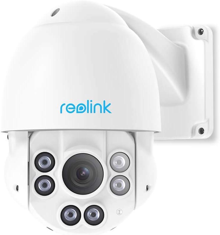 Reolink PTZ 5MP Caméra PoE avec Pan Tilt Zoom Optique 4X Caméra...