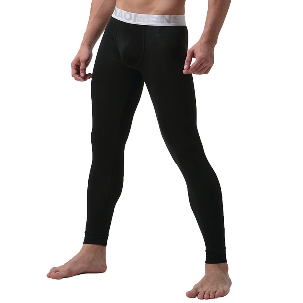 c7b5d1c9f924 YiLianDa Modal Homme De sous-vêtements Thermiques Collant De Compression  Leggings product image