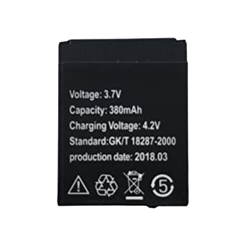Batería de Reloj Inteligente OCTelect AB-s1 con Capacidad de 380MAH