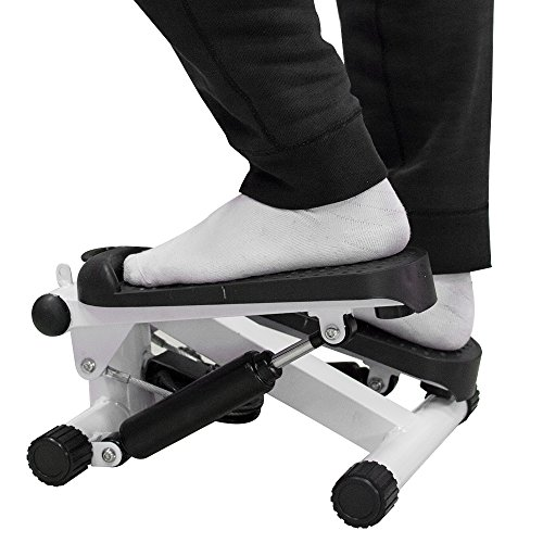 vinmax Stepper Machine for Exercise Household Mini Multifunctional Stepper Durable Exercise Equipment Indoor Cardio Training Fitness with Resistance Bands Arms Legs Belly Body Slimming